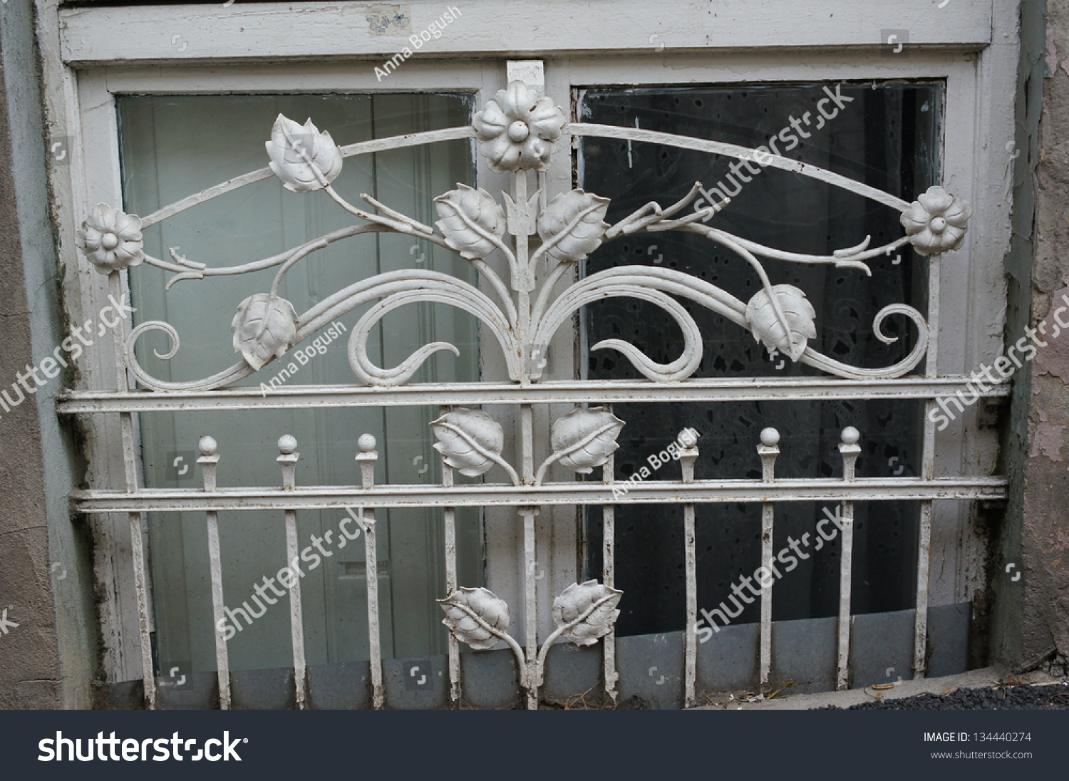 Artnouveau facade decoration forged iron tbilisi stock for Decoration facade