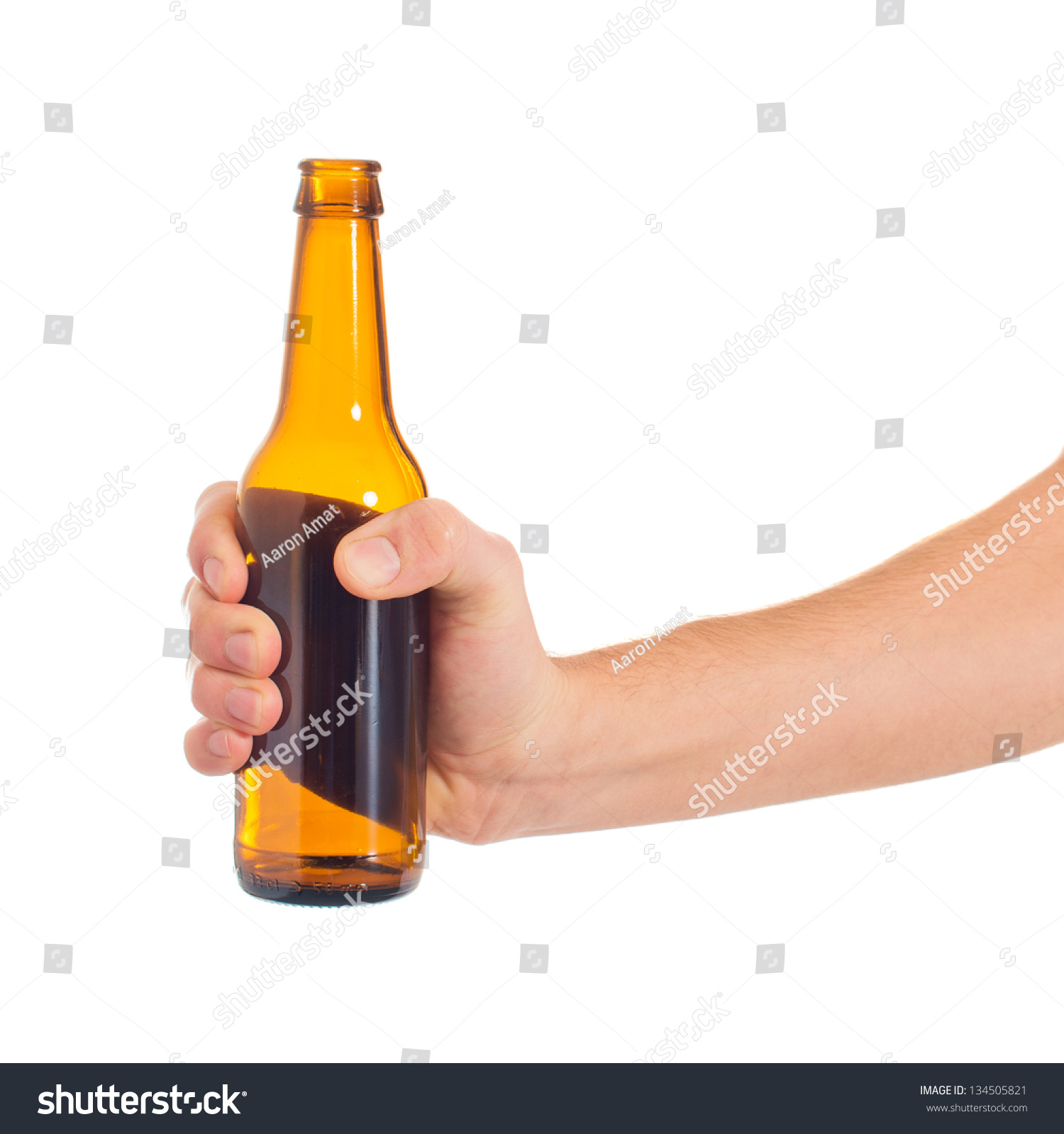 pussy with beer bottle in it close up