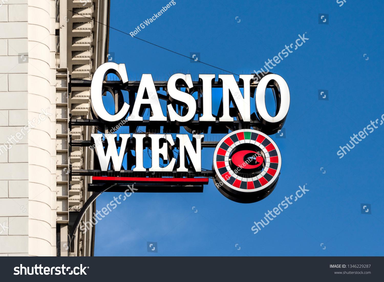 Austria Vienna Big White Red Casino Stock Photo Edit Now 1346229287