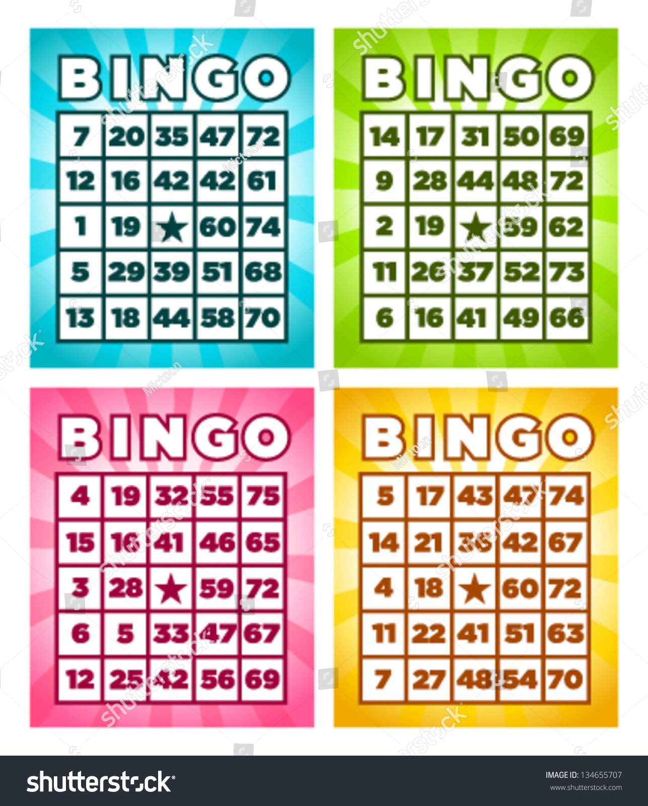 Bingo Cards Www Pixshark Com Images Galleries With A Bite