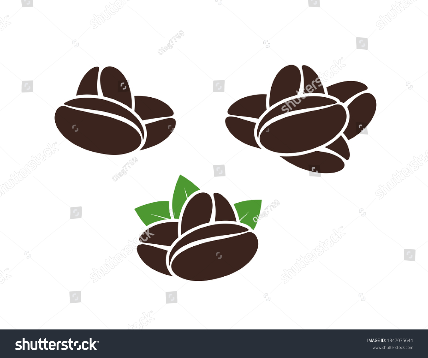coffee beans logo isolated coffe beans stock vector royalty free 1347075644 shutterstock