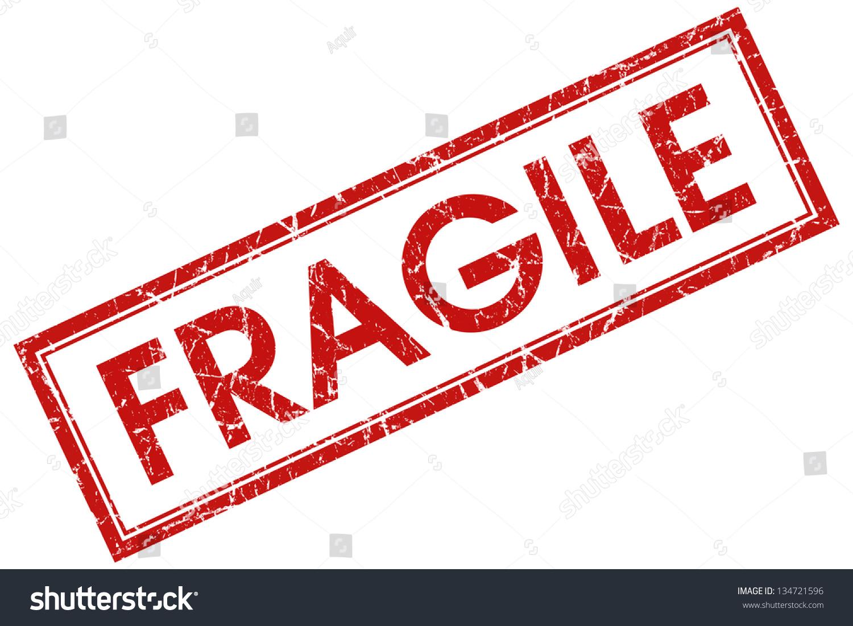 Fragile Stamp Stock Illustration 134721596 - Shutterstock