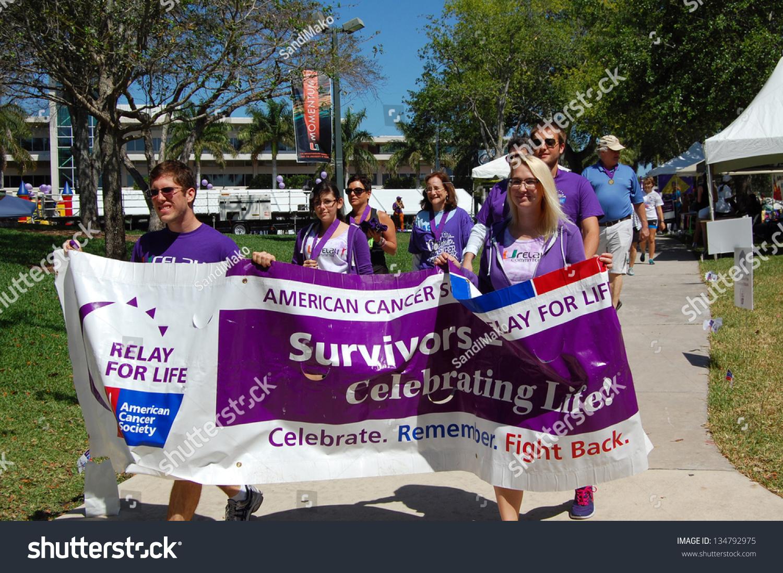 Miami, Fl - April 6: Students Participate In The American ...  Miami, Fl - Apr...