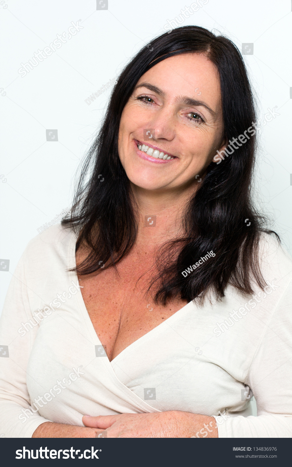 Good looking mature woman