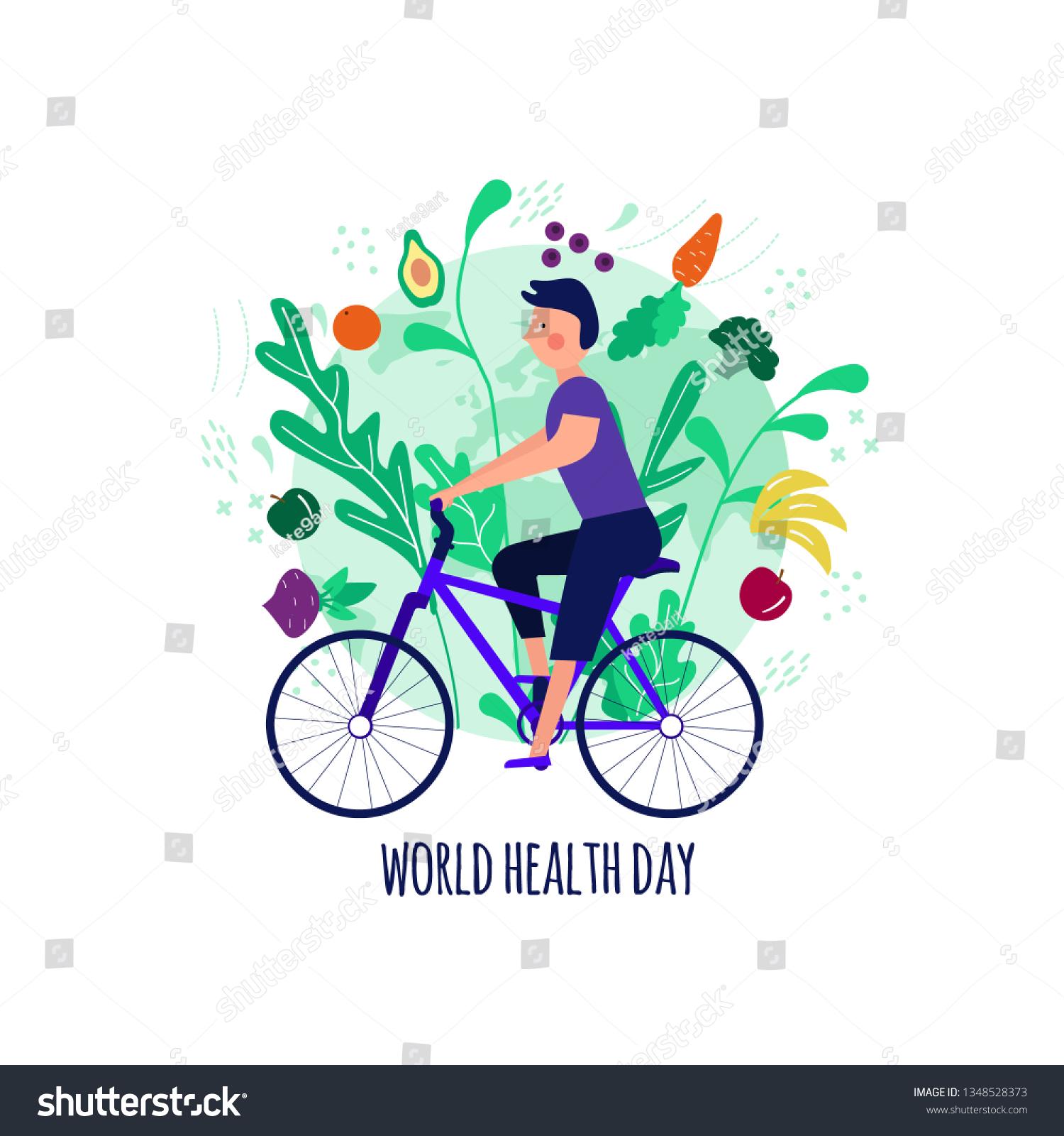 happy world health day clipart