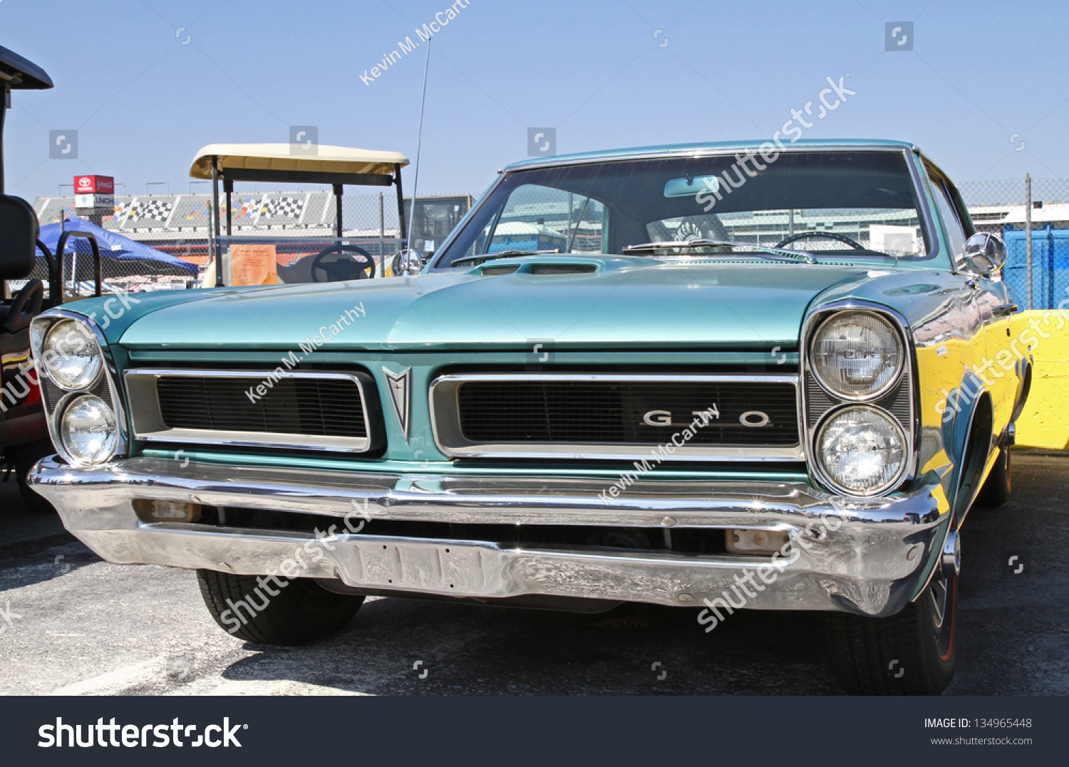Concord Nc April 6 1965 Pontiac Stock Photo Edit Now 134965448 1960s Gto Judge A Automobile On Display At The