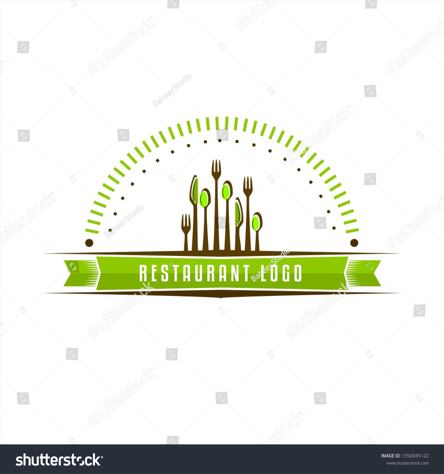 Vector De Stock Libre De Regalias Sobre Restaurant Logo Design Inspiration Cutlery Logo1350045122