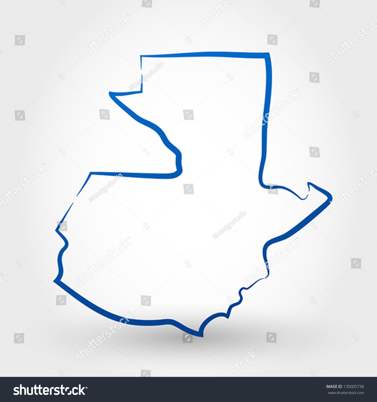 map guatemala map concept stock vector shutterstock