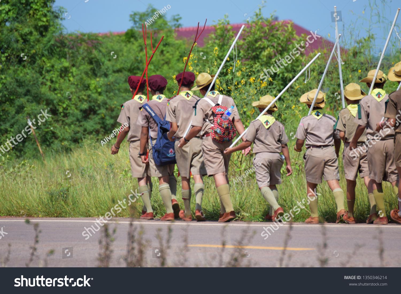 Prachinburi Thailand Oct 8 2017 Scouts Stock Photo (Edit Now