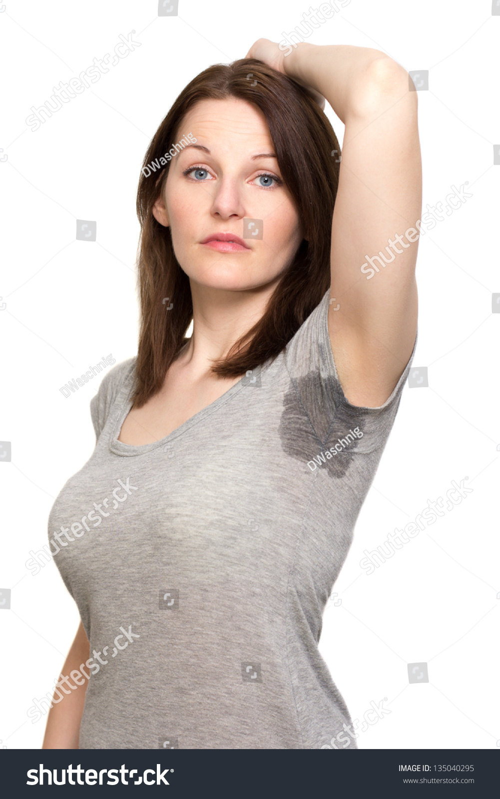 Woman Sweating Very Badly Under Armpit Stock Photo ...: https://www.shutterstock.com/pic-135040295/stock-photo-woman-sweating-very-badly-under-armpit.html
