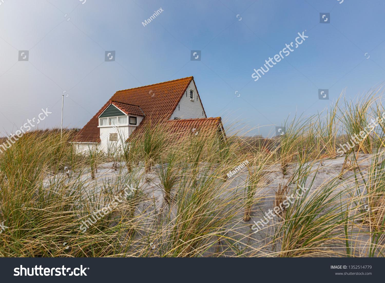 Zoutelande View Tiny House Dunes Zeeland Stock Photo (Edit Now