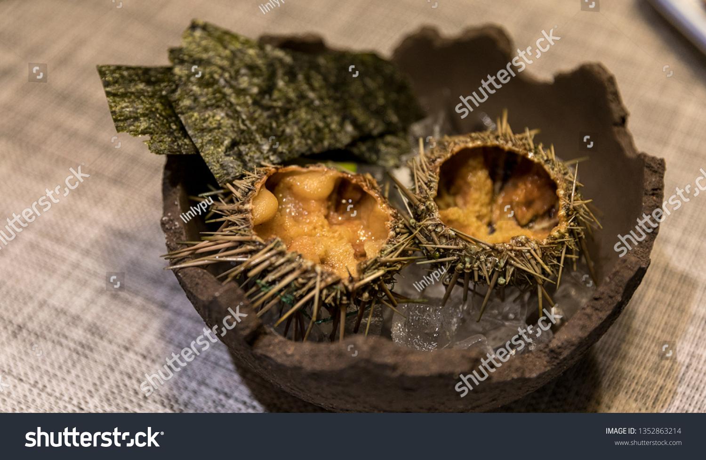 Japanese Salmon Sea Cucumber Sea Urchin ...