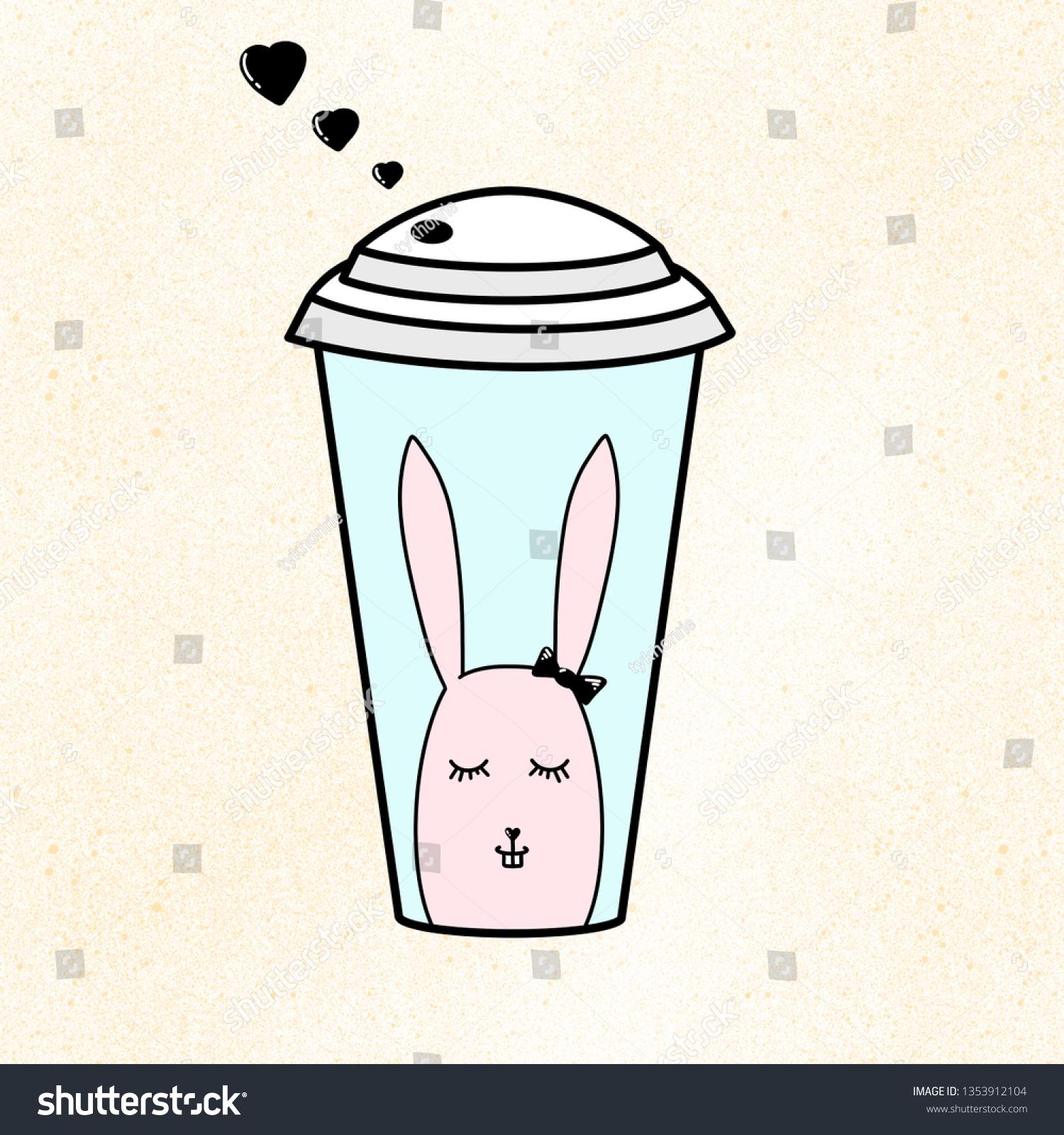 stock-photo-plastic-coffee-juice-or-tea-