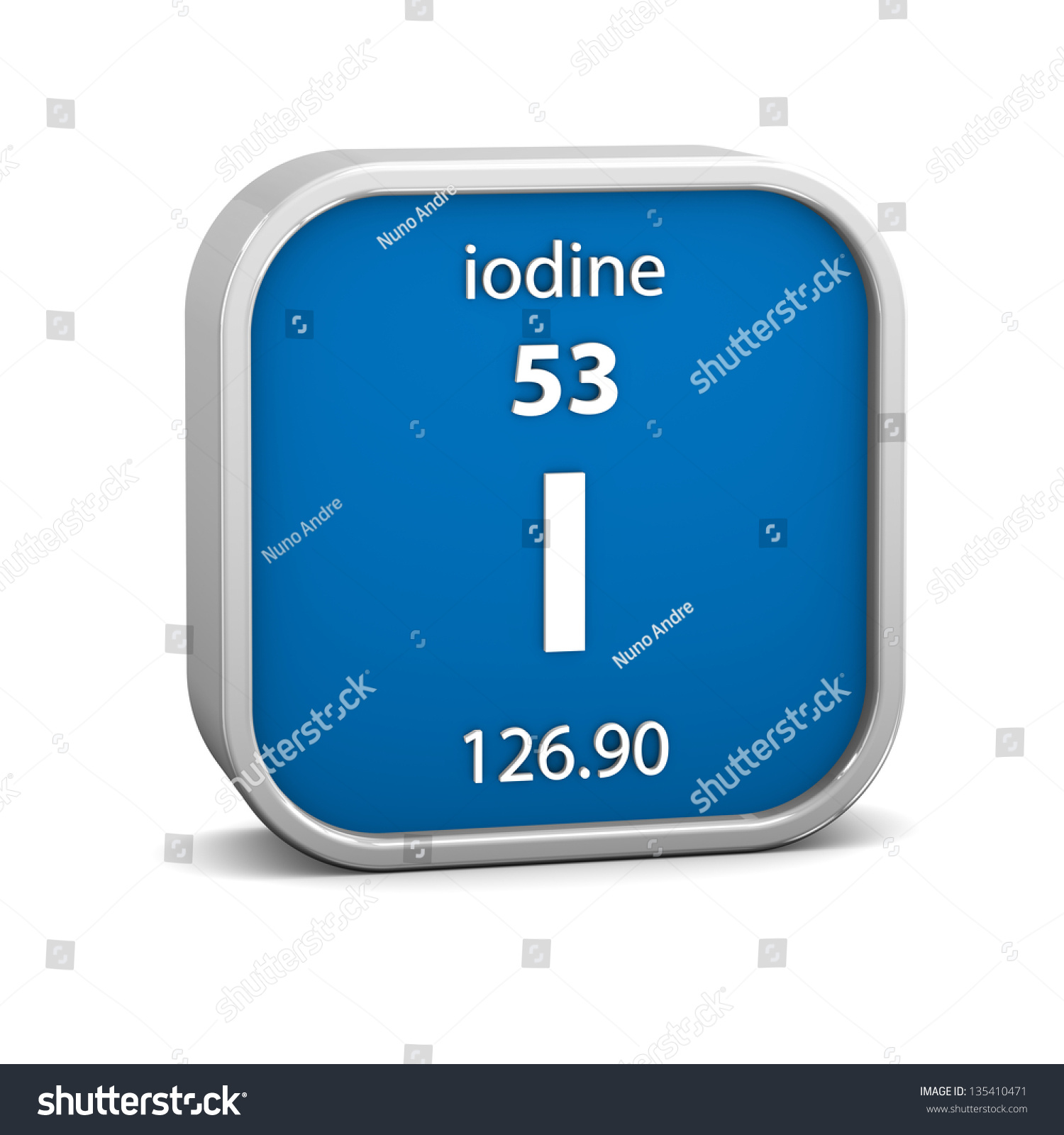 Iodine material on periodic table part stock illustration iodine material on the periodic table part of a series gamestrikefo Choice Image