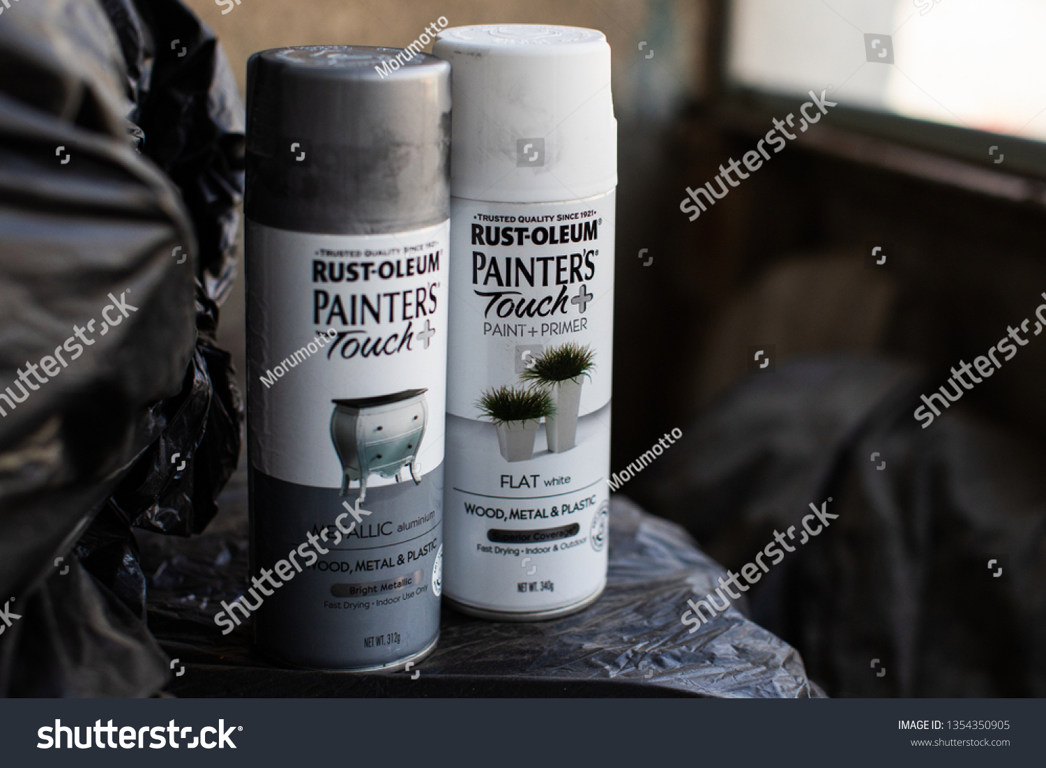 Moscow Russia March 27 2019 Rustoleum Stock Photo (Edit Now