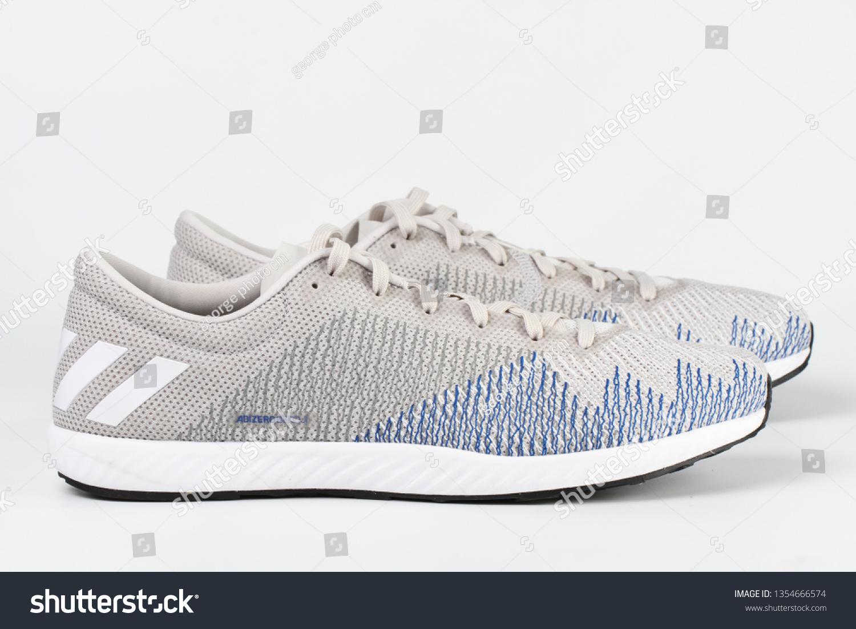 075e2f20 CHIANG MAI, THAILAND - Mar 31, 2019 :Adidas running shoes men adizero  bekoji.