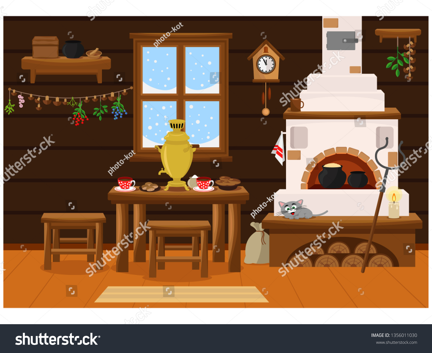 Interior Russian Village House Russian Stove Stock Vector ... on traditional french houses, traditional scottish houses, russia city houses, traditional hmong houses, traditional serbian houses, old french houses, traditional italian houses, traditional belgian houses, traditional bulgarian houses, traditional greek houses, traditional danish houses, traditional chinese house, traditional swedish houses, siberia russia houses, traditional ukraine houses, izba peasant houses, traditional tswana houses, traditional norwegian houses, traditional omani houses, traditional irish houses,