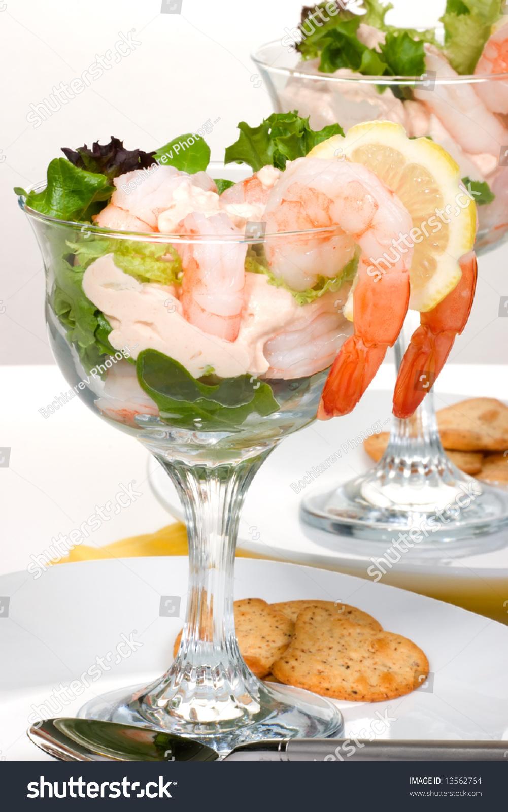 delicious prawn cocktail fresh jumbo shrimps stock photo. Black Bedroom Furniture Sets. Home Design Ideas