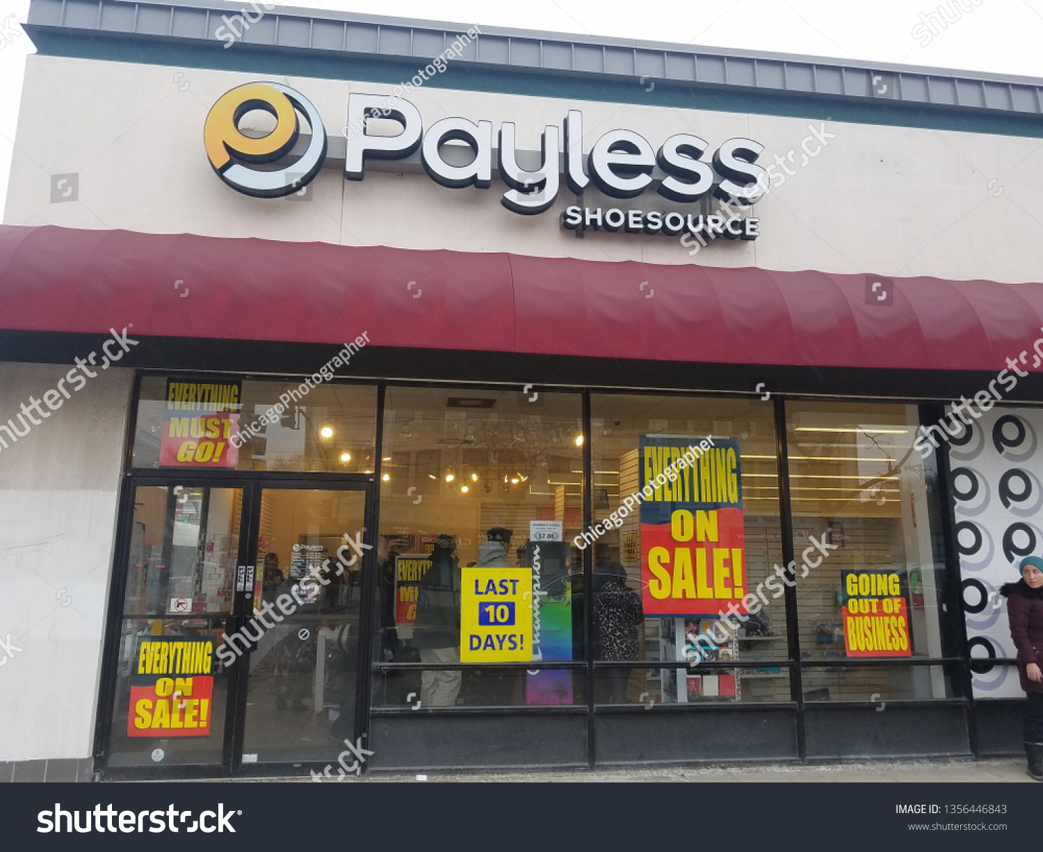 Payless Shoesource Front Entrance Sign