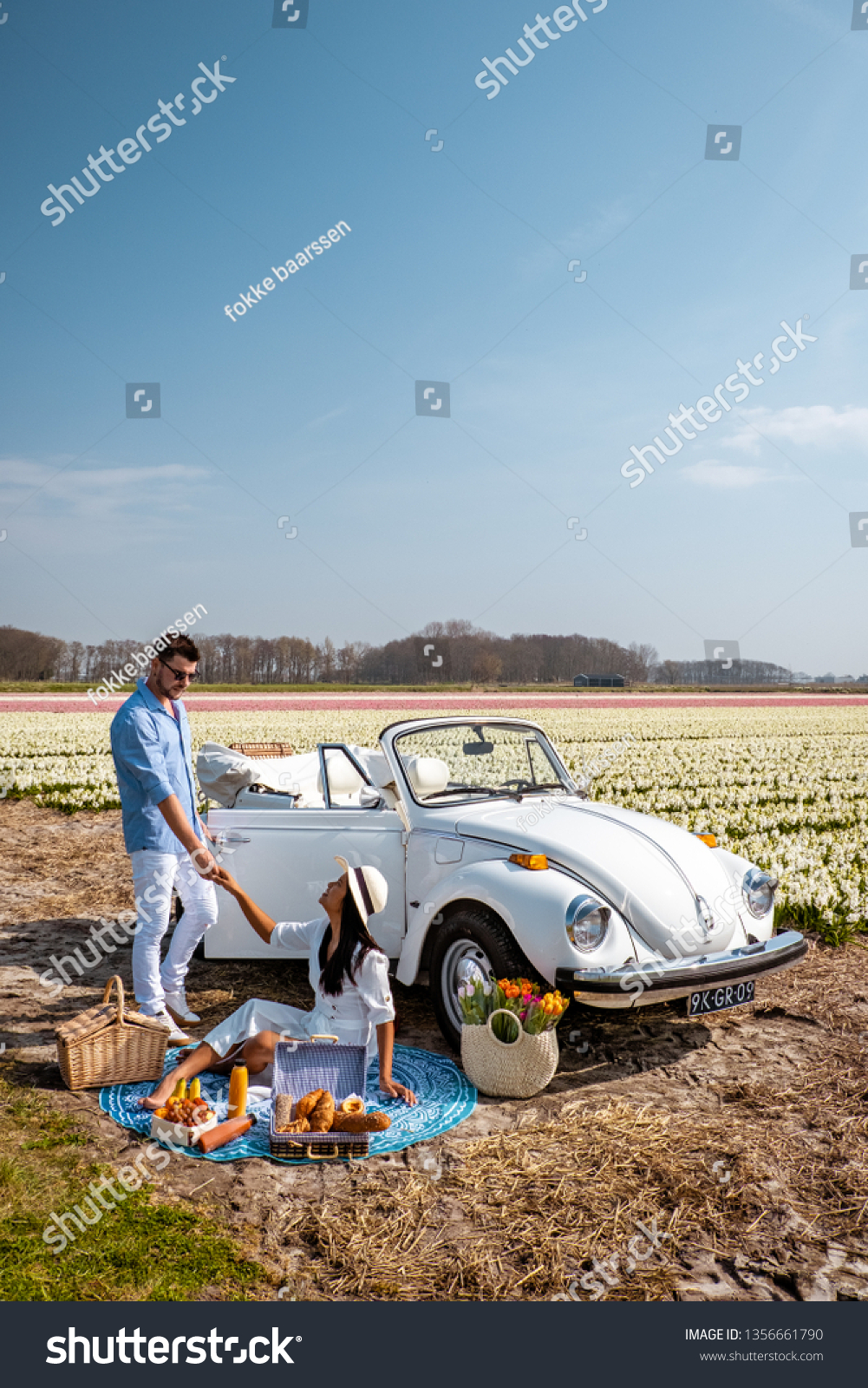 Lisse Netherlands April 2019 Classic White Stock Photo Edit Now 1356661790