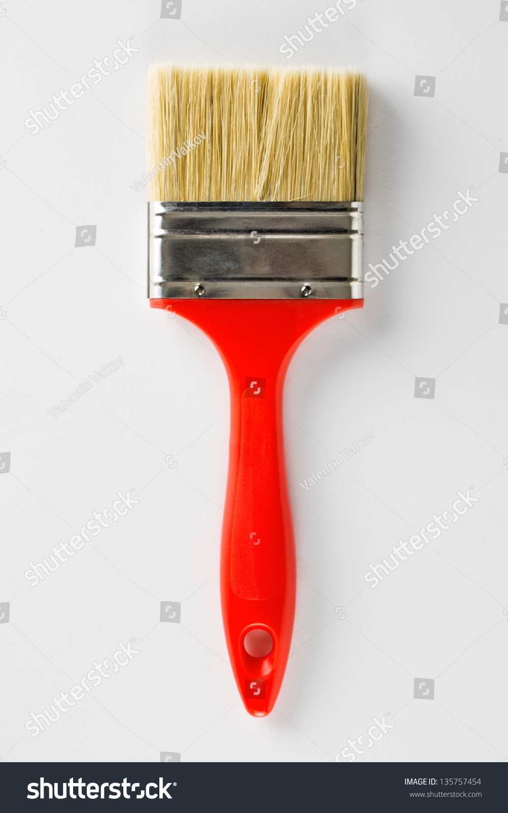 Brand new paint brush isolated on stock photo 135757454 for Best paint brush brands