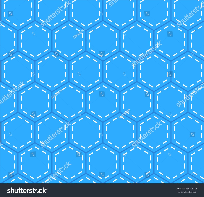 blue hexagonal pattern vector - photo #18