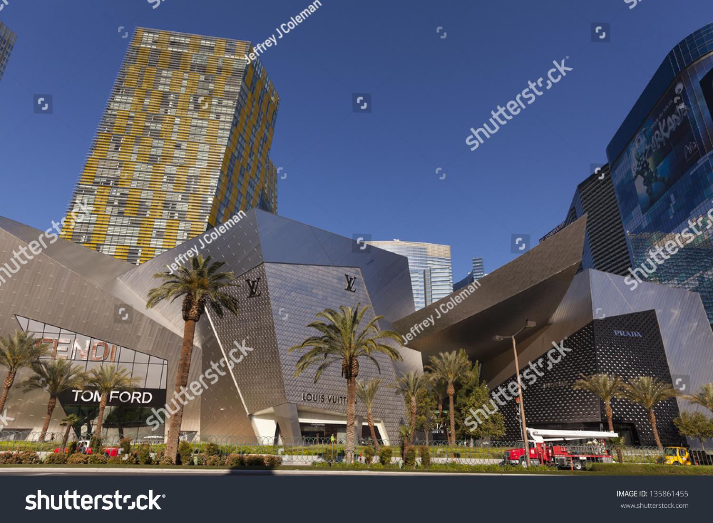 Las Vegas April 19 Crystals City Stock Photo (Edit Now