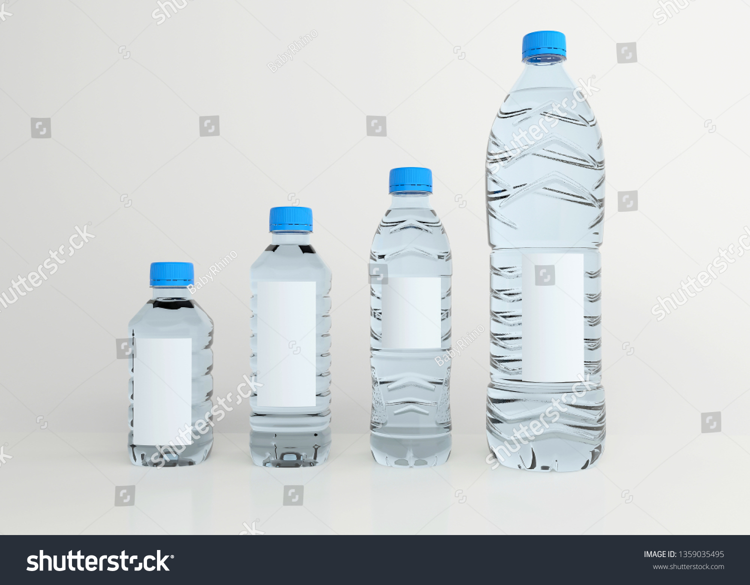 stock-photo-set-of-drinking-water-bottle