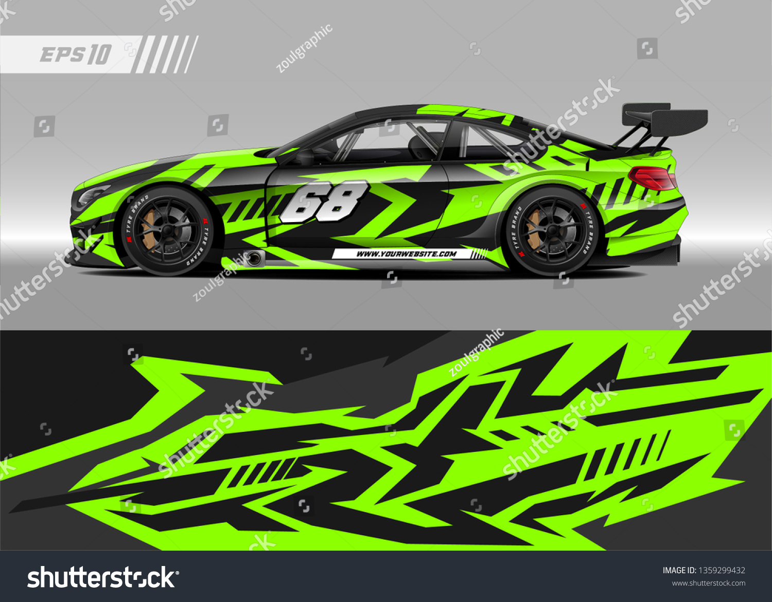 Racing car decal design vector graphic abstract stripe racing background kit designs for wrap vehicle