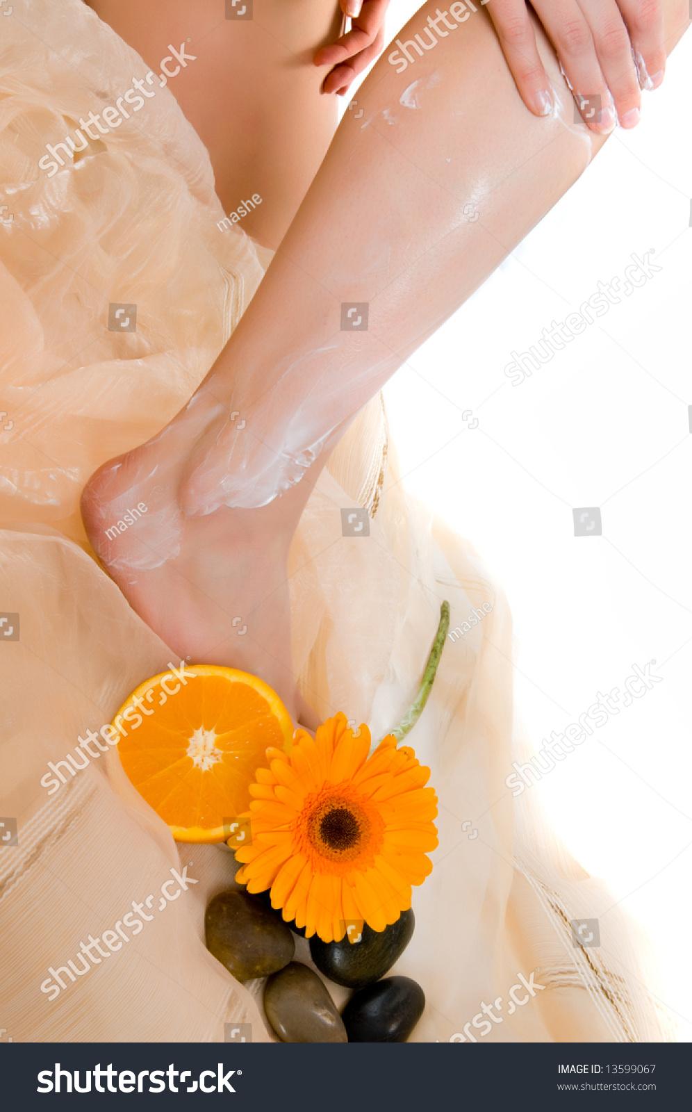 Legs Girl Stock Photo 13599067