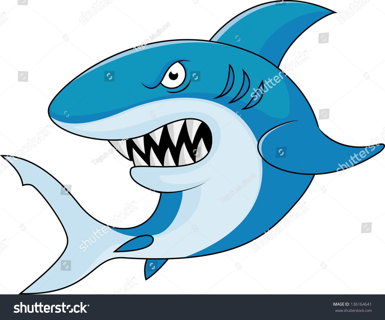 shark cartoon stock vector 136164641 shutterstock shark fin lollipop shark fin theory domestic violence