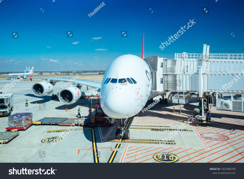 Melbourne Australia March 18 2019 Qantas Stock Photo (Edit