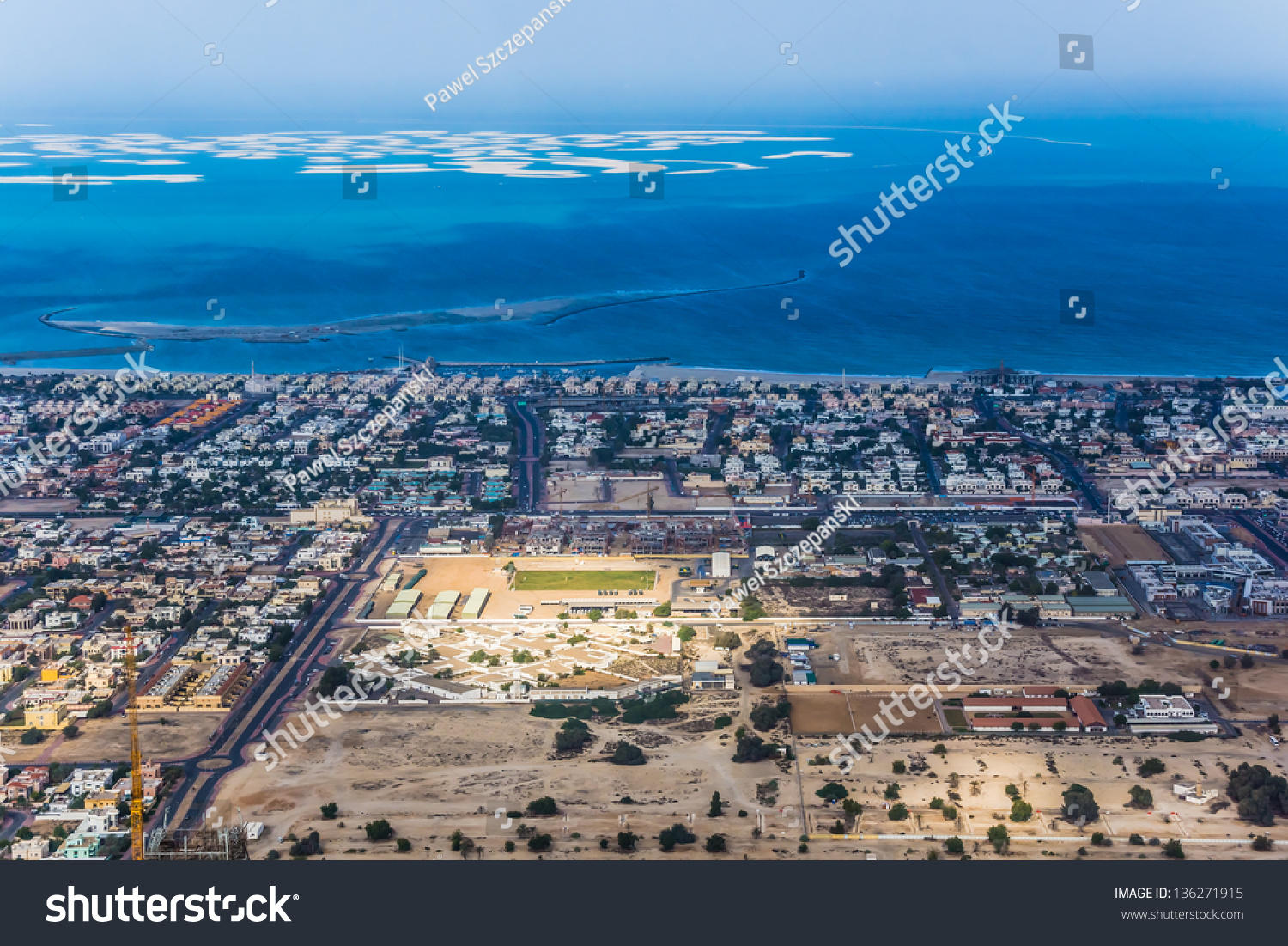 Dubai uae february 03 view on stock photo 136271915 shutterstock dubai uae february 03 view on world islands an artificial archipelago of gumiabroncs Image collections