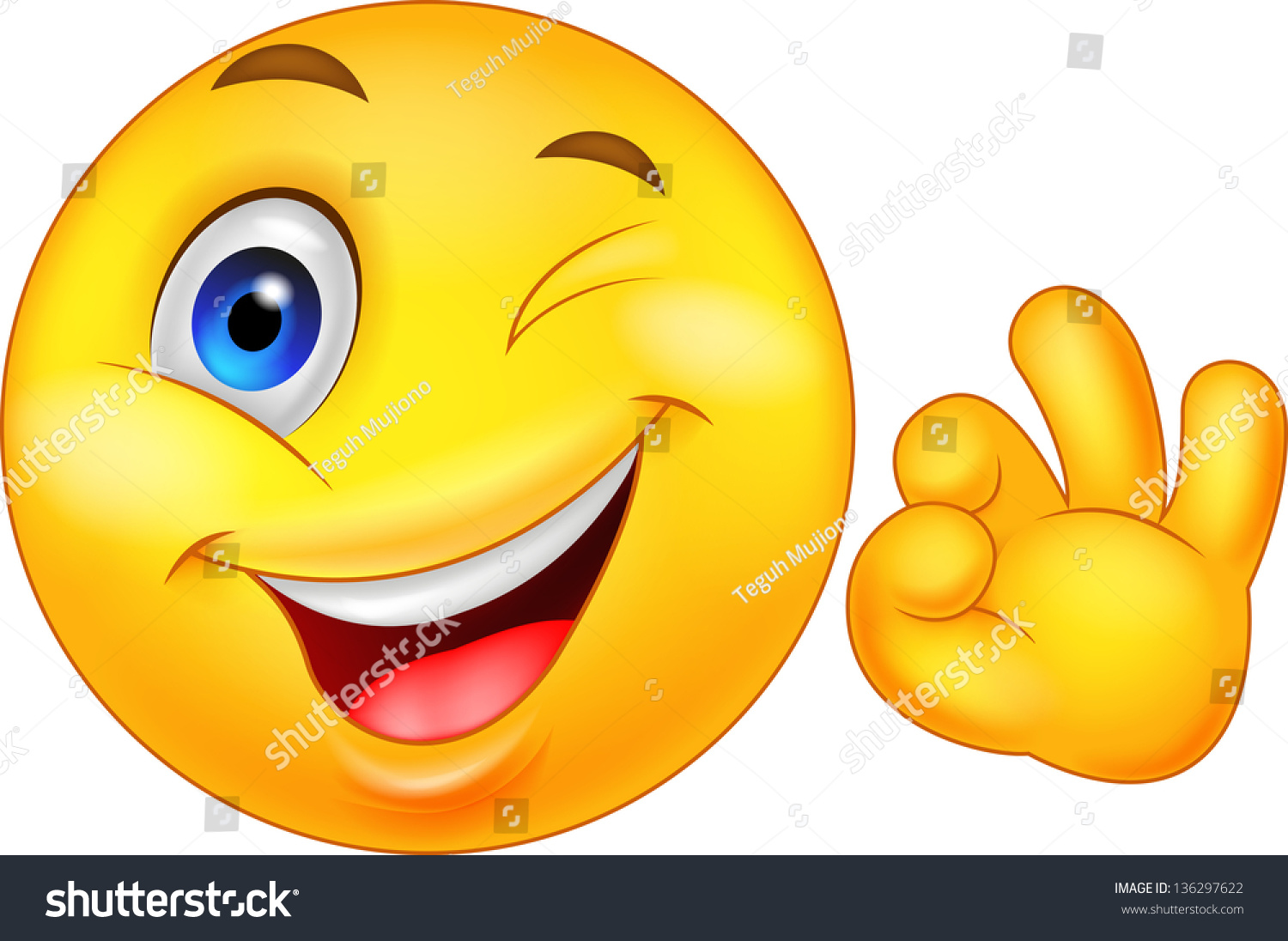smiley emoticon ok sign stock vector 136297622 shutterstock smiley face vector art smiley face vector png