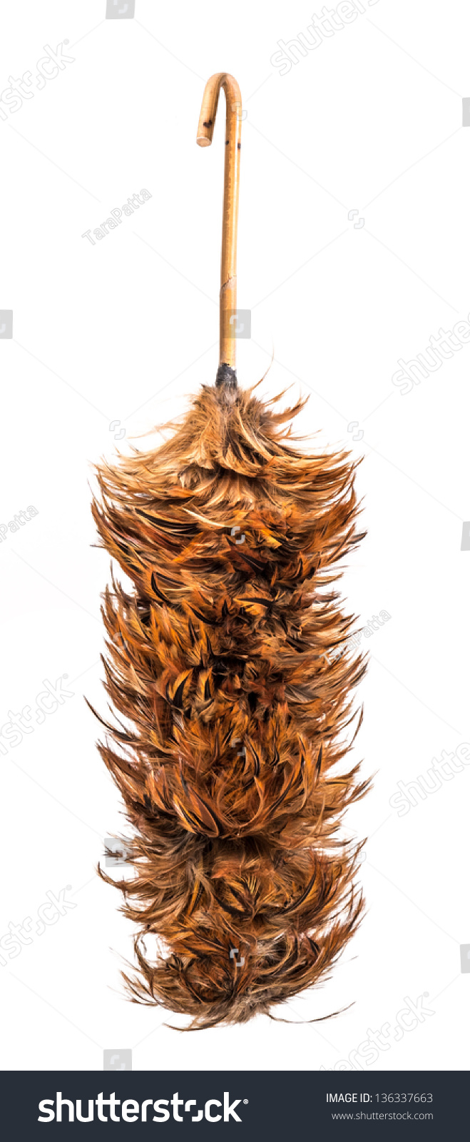 Thai Style Whisk Made Chicken Hair Stock Photo Edit Now 136337663