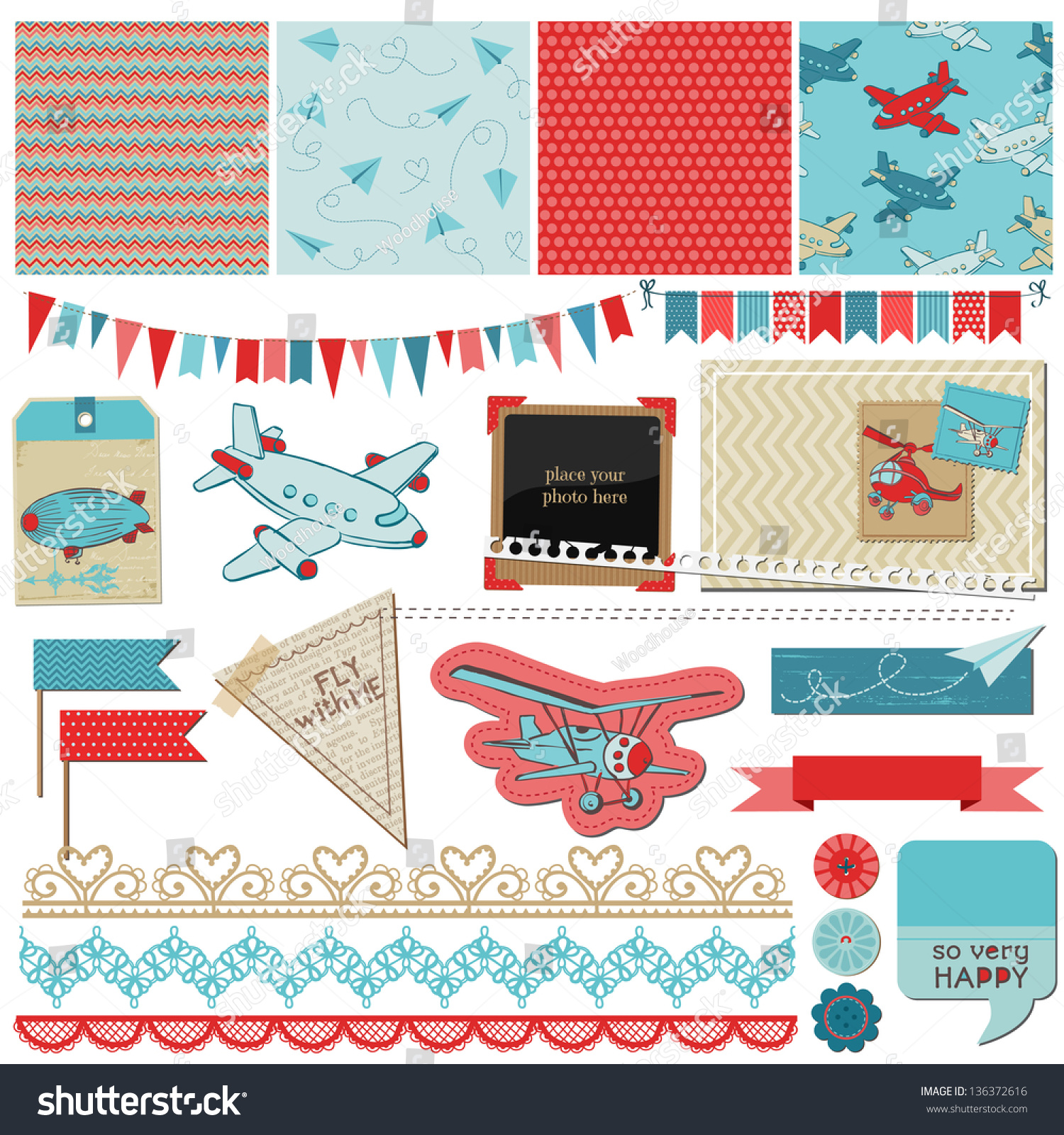 Scrap book design
