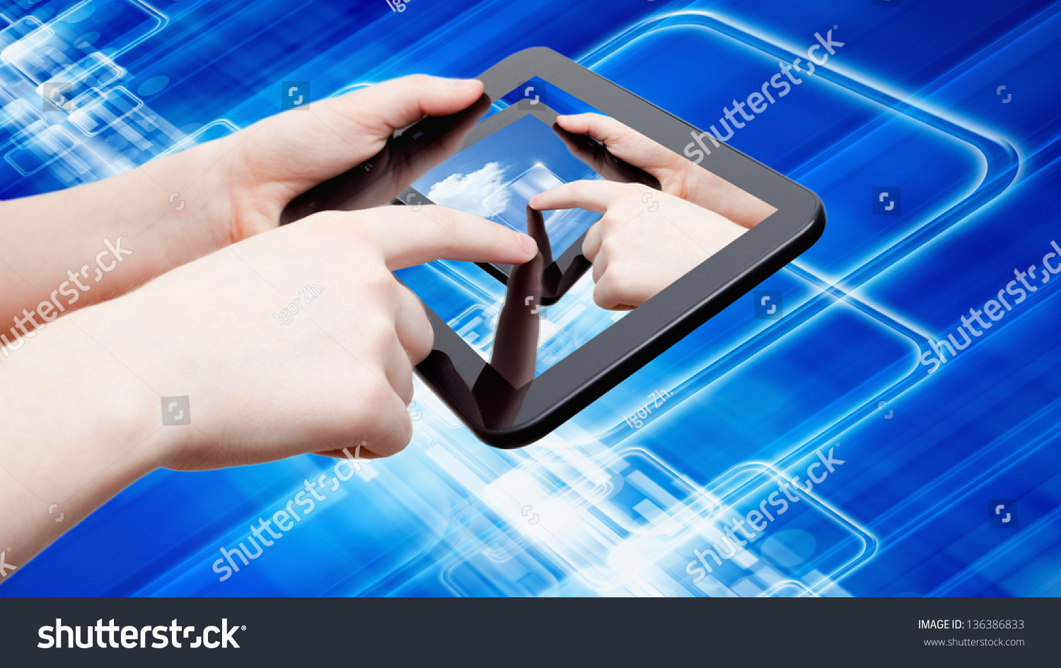 information technology gadgets information technology background abstract tablet 22597