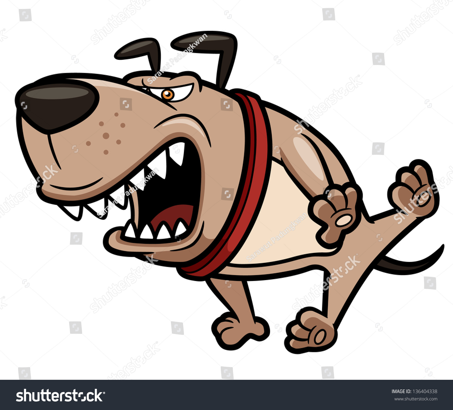 angry dog clip art - photo #14