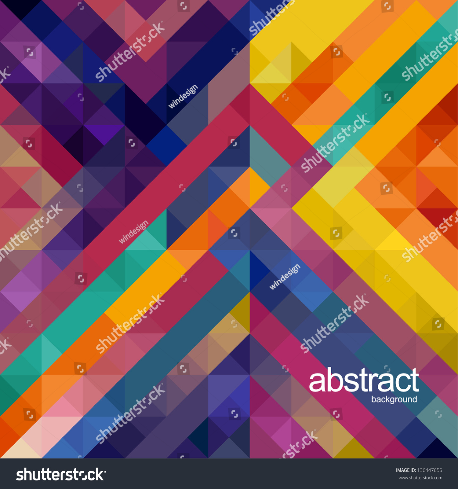 Abstract Background For Design Stock Vector 136447655