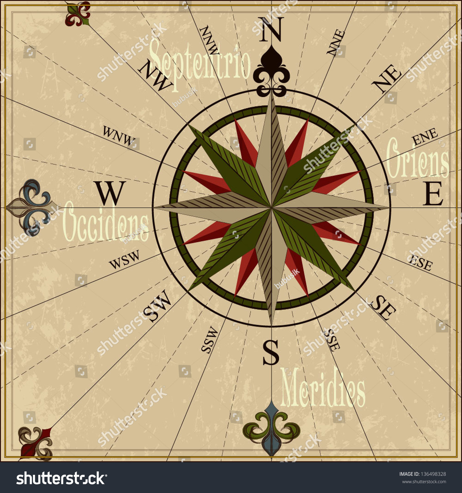 Vintage compass rose nautical vector illustration vectores en stock vintage compass rose nautical vector illustration with wind rose gumiabroncs Images