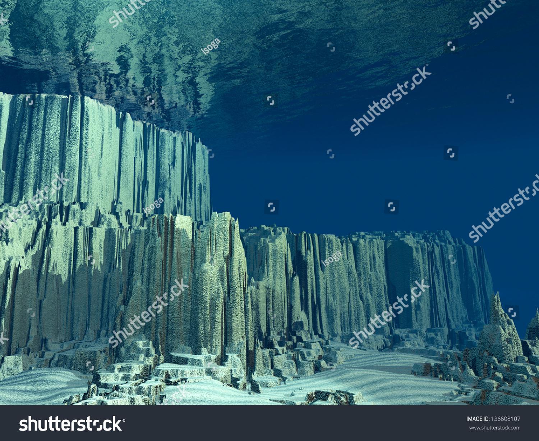 Lovely 3D Ocean Floor