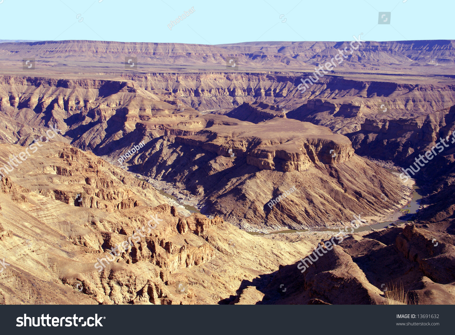 Fish River Canyon Namibia Africa - Second Largest Canyon ...