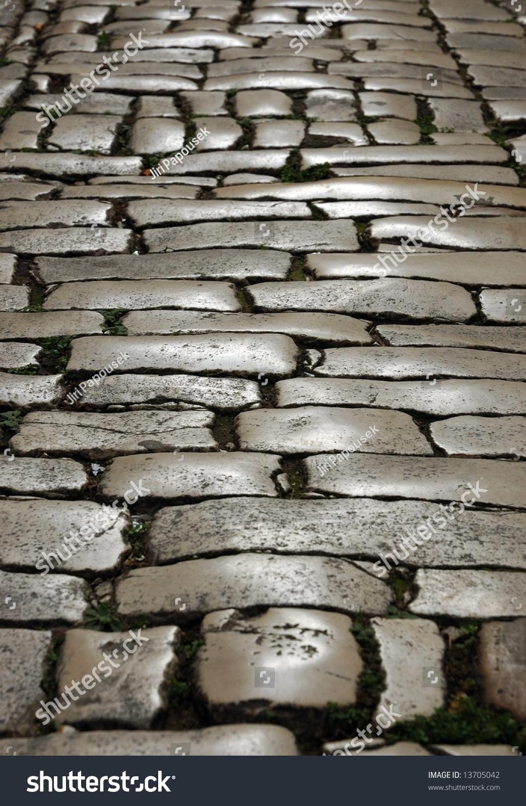Gray cobblestone stock photo 13705042 shutterstock for Cobblestone shutters