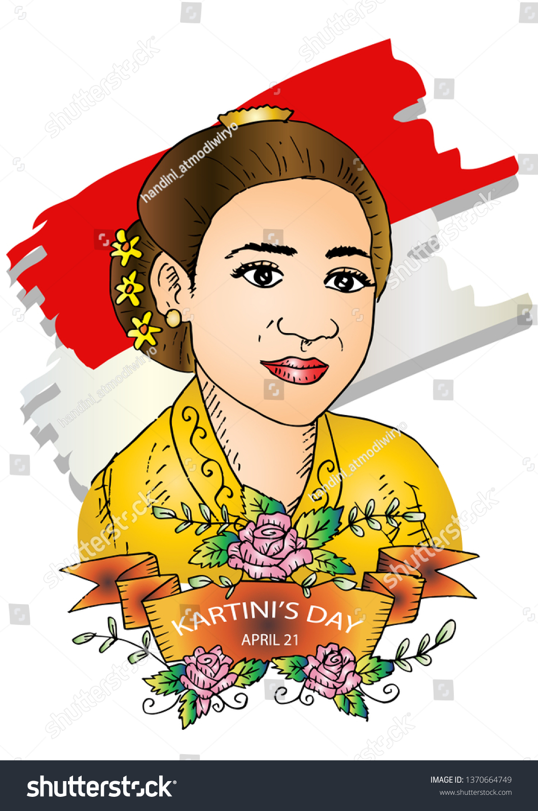 kartini day r kartini heroes women stock vector royalty free 1370664749 https www shutterstock com image vector kartini day r heroes women human 1370664749