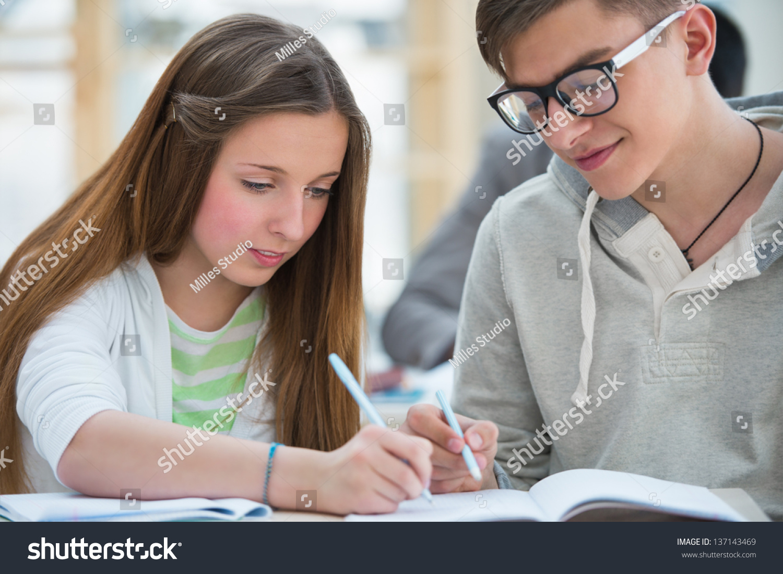 High school students homework