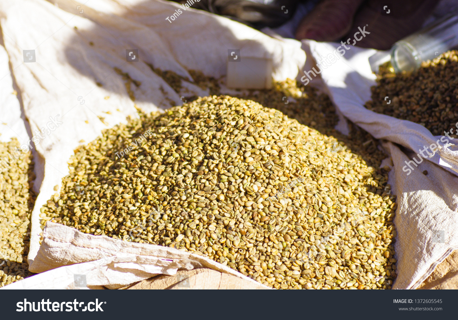 Raw Green Coffee Bean Sale Lalibela Food And Drink Objects