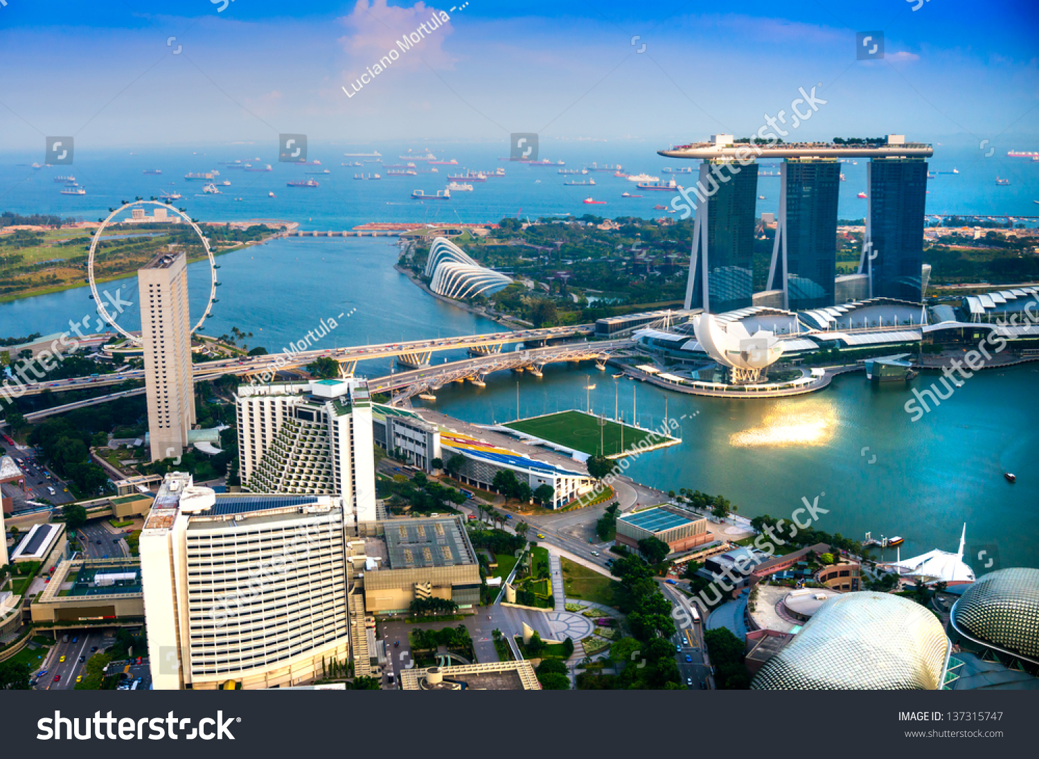 Singapore march 19 marina bay sands resort hotel on for Most luxurious hotel in singapore