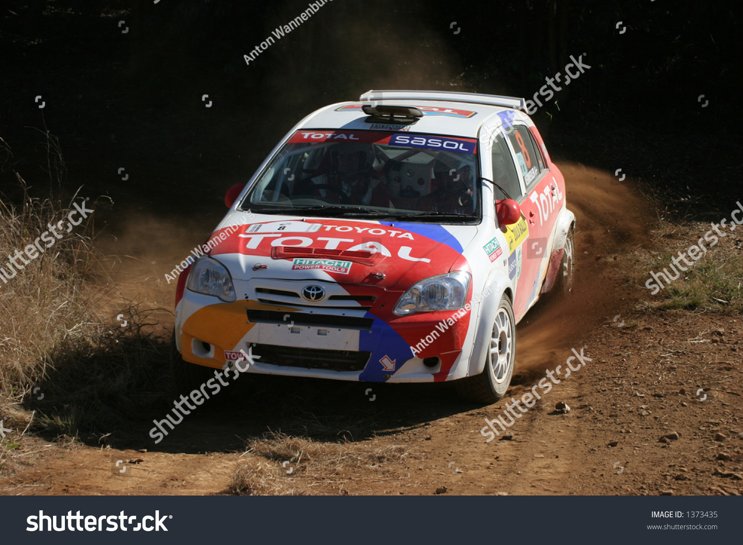 Toyota Rally Car Stock Photo 1373435 - Shutterstock