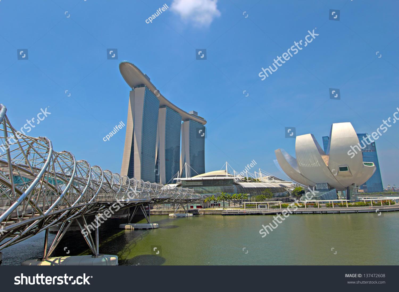 stock-photo-singapore-april-marina-bay-s