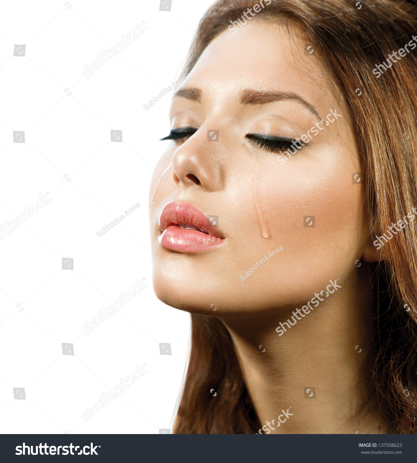 crying woman stock photo crying woman beauty girl crying tears cry stock photo 139